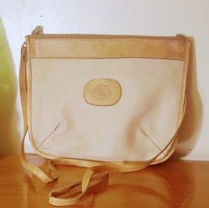 Brahmin Crossbody Bag, Nice! Canvas Leather